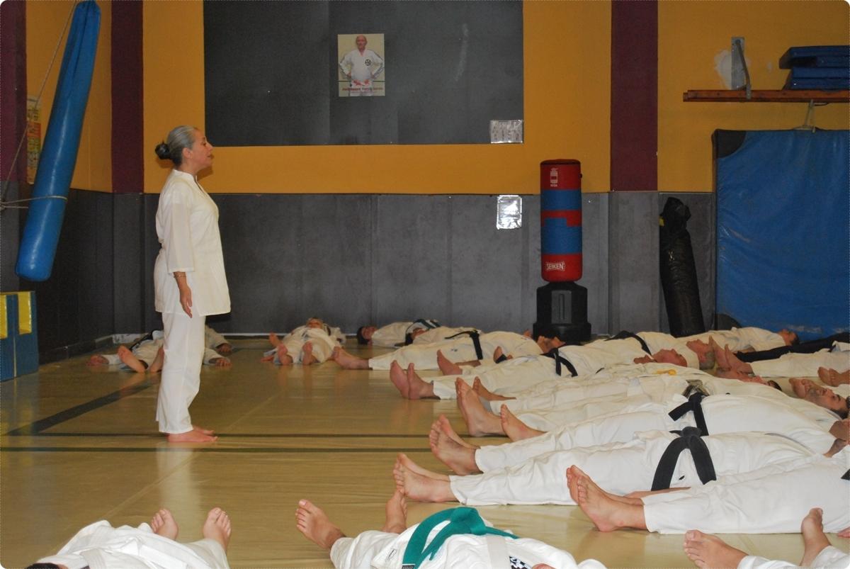 Colaboración en el Kangeiko año 2015. Kundalini Yoga Zaragoza