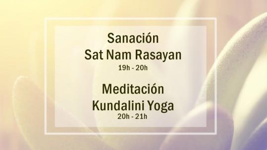 Actividades primer viernes de mes. Escuela Kundalini Yoga Zaragoza