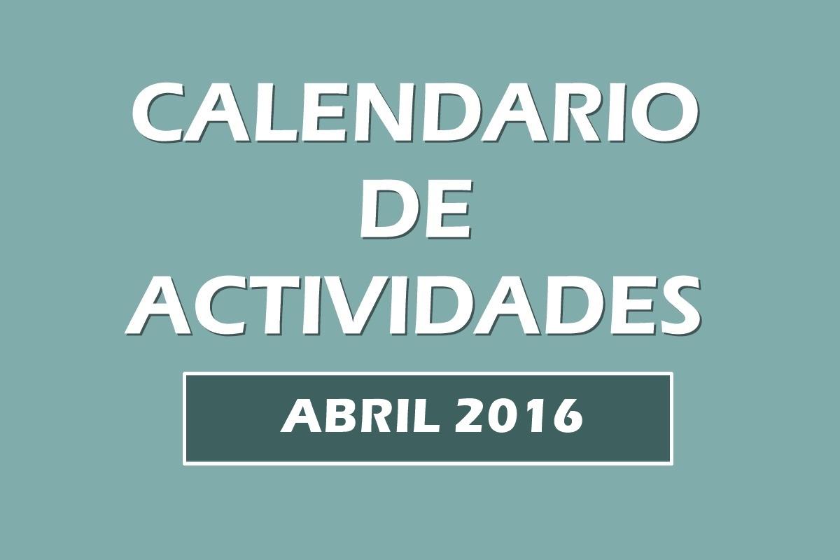 Calendario actividades abril 2016. Kundalini Yoga Zaragoza