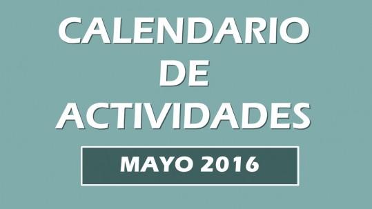 Calendario actividades mayo 2016. Escuela Kundalini Yoga