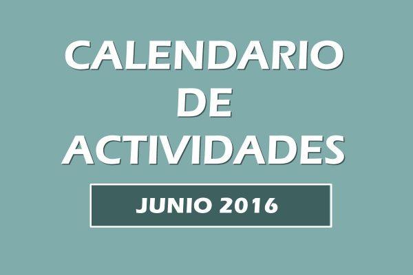 Calendario actividades junio 2016. Escuela Kundalini Yoga