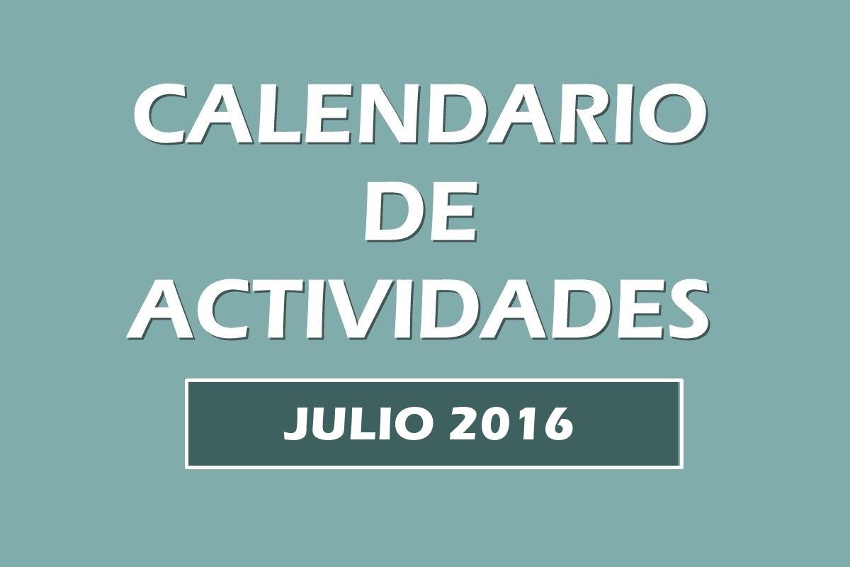 Calendario actividades julio 2016. Escuela Kundalini Yoga