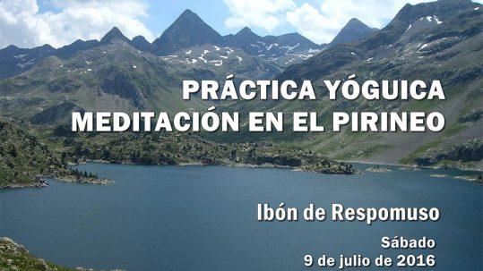 Práctica Yóguica de Meditación en el Pirineo. Escuela Kundalini Yoga Zaragoza