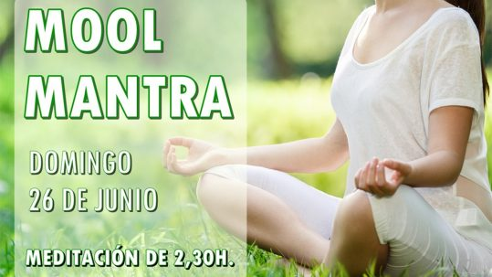 Mool Mantra. Meditación de 2,30h el domingo 26 de junio. Escuela Kundalini Yoga Zaragoza