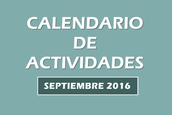 Calendario actividades Septiembre 2016. Escuela Kundalini Yoga
