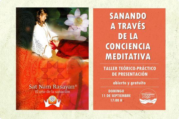 Taller de presentación curso Sat Nam rasayan. Escuela Kundalini Yoga Zaragoza
