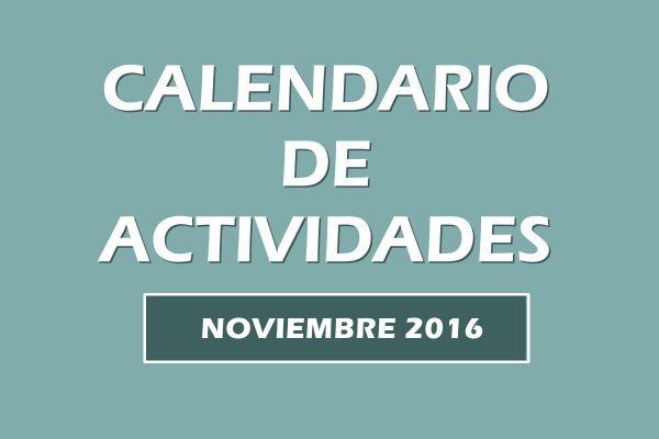Calendario actividades noviembre 2016. Escuela Kundalini Yoga Zaragoza