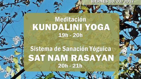 actividades primer viernes de mes_marzo_2017_escuela_kundalini_yoga_zaragoza