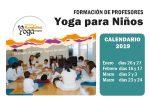 Calendario Nuevo Curso de Yoga para niños