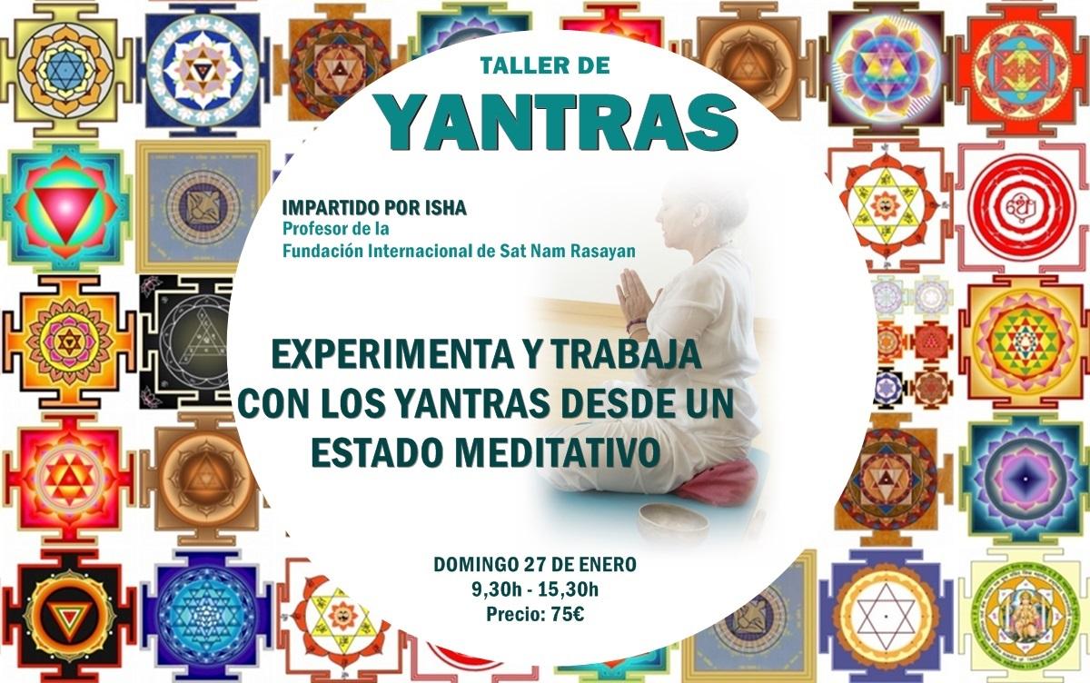 Taller de Yantras en la Escuela Kundalini Yoga Zaragoza