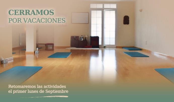 Escuela Kundalini Yoga Zaragoza, cierra por vacaciones, volvemos en septiembre